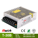 Manufacturer Wholesale Triple-Output SMPS Swiching Power Supply T-30b for Industrial Equipments