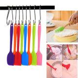Random Color Practical Cake Butter Cream Spatula, Oil Bread Scraper Brush, Silicone Baking & Pastry Tools