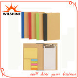 Customized Notebook with Sticky Note and Flags for Gift (FM425)