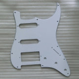 White 3 Ply Strat Pickguard Ssh St Pickguard Guitar