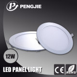 12W Round LED Panel Light with CE (PJ4028)