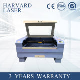 Laser Engraving and Cutting Machine Price for Labels, Trade Mark, Embroidery Cutting