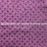 Fashion Stone Pattern Decoration Furniture Leather (QDL-51385)