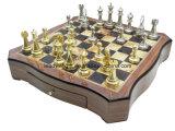 Luxury High Gloss Wooden Chess Set