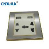 Top Sales High Quality German Wall Socket with USB Port