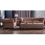 Factory Wholesale Price Hotel Furniture New Classic Leather Sofa
