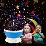LED Bulbs 9 Light Color Changing Moon Star Projector Baby 360 Degree Rotating Night Light