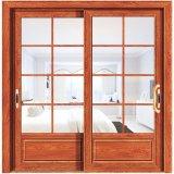 Best Price Wood Color Aluminum Decorative Glass Doors for Kitchen