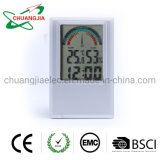 Digital Humidity and Temperature Meter with Time and Alarm Clock