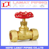 Forged Brass/Copper Outside Screw Stem Gate/Stop Valve
