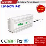 Constant Voltage 12V 360W LED Waterproof Switching Power Supply IP67