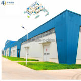China Building Material Prefabricated Light Steel Structure for Modular Warehouse/Workshop/Cow Shed/Chicken House/H Beam Construction