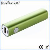 2600mAh Metal Stick Power Bank with Power Button (XH-PB-166)