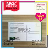 Imee Printing Custom Cheap Printed Business Paper Post Card