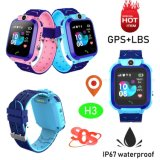 Cheap IP67 Waterproof GPS Tracking Watch with Three Geo-Fences H3
