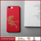 New Arrival 3D Embroidery PU Leather Protective Customised Phone Cases