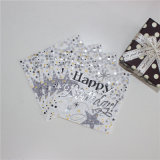 Foiling Silver Paper Lunch Napkin 25*25cm/2ply & 25*25cm/3ply