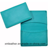 Luxury Genuine Leather ID Name Card Holder Wallet