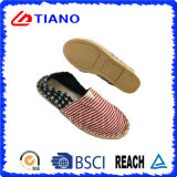 Popular Style Flat and Comfortable Espadrilles Lady Shoes (TN36703)