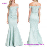 The Form-Fitting Silhouette off-The-Shoulder Siren Evening Gown