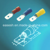 Manufacture Solderless Insulated Male Tab Crimp Terminals