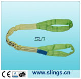 2018 En1492 Heavy 3t*2m Round Sling with Ce/GS