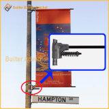 Metal Street Light Pole Advertising Banner Fixture (BS-HS-007)