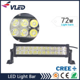 72W 4X4 LED Car Light, Curved LED Light Bar off Road, Auto LED Light Arch Bent