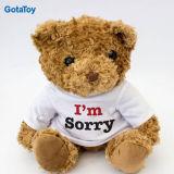 High Quality Custom Plush Toy Teddy Bear Sorry Apologize Gifts