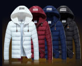 New Fashion Winter Men′s Hooded Man Down Cotton Padded Jacket Coat Outwear