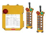 Double Transmitters F24-12s Telecrane Wireless Remote Control for Tower Crane