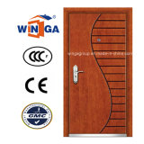 Art Style Winga Security Steel MDF Veneer Armored Door (W-A-9)