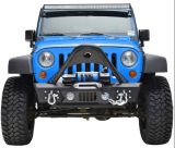 No. 8 Front Bumper for Jeep Wrangler 07+