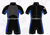 Men′s Neoprene Short Wetsuit/Sports Wear/Swimwear (HXS0004)