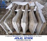 Chinese Cheap G682 Yellow Granite Mushroom for Wall Cladding Tiles