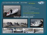 Liya 2.4-5.2m Fiberglass Open Boat Water Sport Motor Boat Rib Boats for Sale