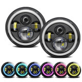 "Bluetooth APP Control 7"" LED Headlights for Uaz Hunter Lada 4X4 Urban Jeep Wrangler"