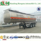 New Semi Trailer Price 35000litres Insulated Aluminum Alloy Fuel Tank Semi Trailer
