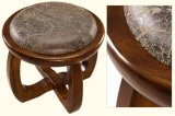Solid Wooden Round Stool (M-X2109)