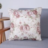 Digital Print Decorative Cushion/Pillow with Botanical&Floral Pattern (MX-74B/C)