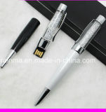 Crystal Stylus Pen with USB