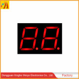China High Quality 2-Digit 7 Segment LED Display for Clock