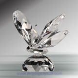 Crystal Animal Figurine Crystal Butterfly (DWY-156)
