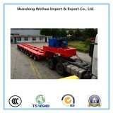 9 Line 18 Axles Lowbed Semi Trailer with Best Price