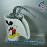 Polished Ceramic Basin Faucet (CB-23001)