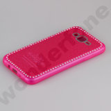 Colorful TPU Case with Diamond for Cell Phone