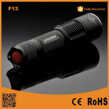Poppas F13 High Power Portable LED Rechargeable Flashlight Tactical
