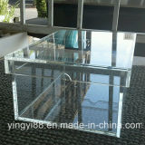 Custom Top Quality Clear Acrylic Drop Front Shoe Display Box
