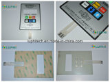 Pet Printing Circuit Membrane Keypad Switch with Graphic Overlay