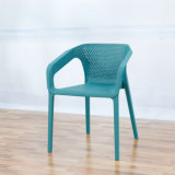 PP Plastic Armchairs Stackable Dining Chair